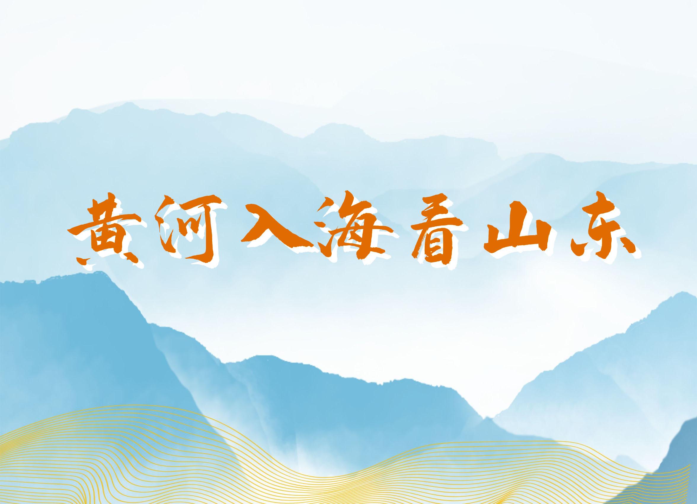 黄河入海看山东