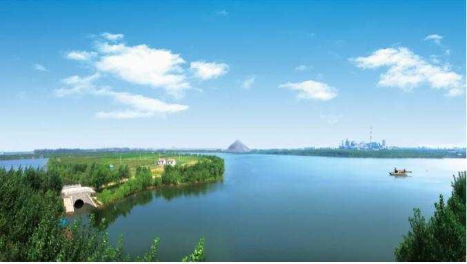 《自然资源部》山东省邹城市采煤塌陷地治理